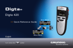 Digta 420 - short - Grundig Business Systems GmbH