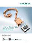 Serial-to-Ethernet Q&A