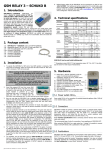 GSM RELAY 3 – SCHUKO B