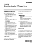 YP900A Delphi Combustion Efficiency Panel