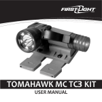 User ManUal ToMahawk MC TC kiT - First