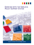 exercises with the simlucia policy support system
