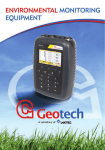 Geotech product catalogue