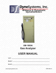 USER MANUAL - Dyne Systems