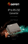 IP to RS-232