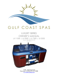 Gulf Coast LX Owners Manual
