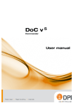 User manual - D&P International bv