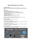 USB2.0 NAS Dongle User`s Manual