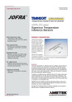 Jofra STS Series Superior Temperature Reference Sensors