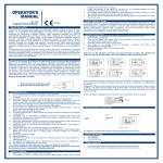 Fingertip Pulse Oximeter Instruction Manual