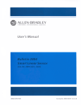 2804-ND001, Bulletin 2804 Smart Linear Sensor User`s Manual