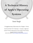A Technical History of Apple`s Operating Systems