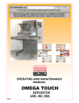 Omega Touch User Manual (UK)