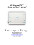 HD-Connect MI™ Guide and User`s Manual