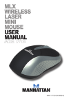 mlx wireless laser mini mouse user manual