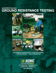 AEMC Ground Resistance - Test Equipment Rental