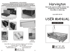 User Manual for Harvington beds