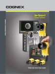 In-Sight Product Guide - ControlVision - Machine Vision