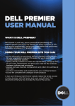 DELL PREMIER USER MANUAL