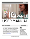 Panel User Manual - Vintage Security