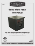 Oxford Infared Heater User Manual