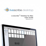 Livescribe Desktop for Mac User Guide