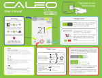 Caleo-user manual 24-08 EN