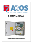 STRING BOX - AROS Solar Technology