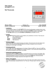 User manual ALFA(NET) 51 PI Rail-Thermostat.