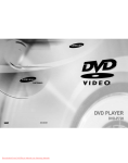 Samsung DVD-P728 User Guide Manual - DVDPlayer