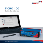 TICRO 100 QSGuide