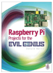 Raspberry Pi Projects for the Evil Genius (2014)- Donald