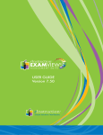 ExamView 7 User`s Manual