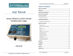 User Manual - CO2Meter.com