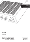 Azur 751R V2 Users Manual English