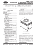 Installation, Start-Up, and Operating Instructions