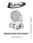 Design Wash LED Zoom User Manual Ver 1