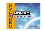 Creative: Nomad Jukebox 2 Getting Started