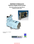 Gold Cup Digital HI-IQ Control Electronic Control User Manual