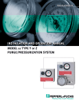 Model 11 Type Y or Z Purge/Pressurization System