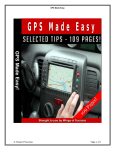 GPS Made Easy © Wings Of Success Page 1 of 1 - Mye