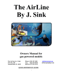 3-30fht owner`s manual - The Air Line by J. Sink