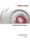 iVMS-5260 Client Software User Manual (iPad)