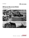 XM Dynamic Measurement Module User Manual