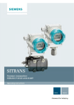 SITRANS P DS III with HART User Manual