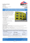 EPS External Wall Insulation System