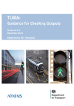 TUBA v1.9.5 Guidance for Checking Outputs