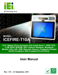 ICEFIRE-T10A Mobile Clinic Assistant