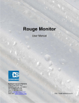 Rouge Monitor User Manual