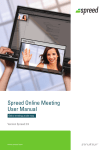 Spreed Online Meeting User Manual